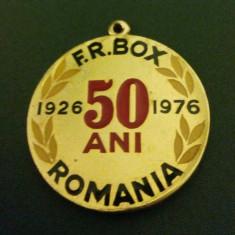 Medalie F R Box Romania - Medalii Romania