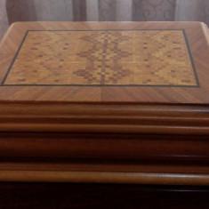 Cutie caseta lemn veche - Cutie Bijuterii