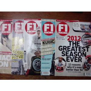 7 reviste auto F1 Racing in limba engleza /C rev G