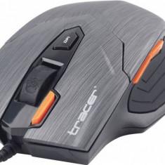 Mouse Tracer TRAMYS42265, Pert, USB, 800-1600 dpi, negru, Optica