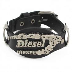 Bratara Diesel din piele - Bratara piele Diesel, Barbati