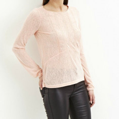 Bluza subtire Vila - art 14036314 roz somon - Bluza dama Vila, Marime: 38, 42