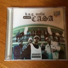 Cd album B.U.G. Mafia prezinta Casa (2002), aproape NOU !!! - Muzica Hip Hop cat music