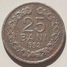 LOT ROMANIA RPR 10 + 25 BANI 1952 + 1 LEU 1950 ** - Moneda Romania