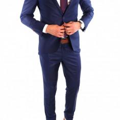 Costum tip ZARA - sacou + pantaloni costum barbati casual office - 6446, Marime: 48, 50, 54, Culoare: Din imagine