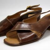 Sandale dama marca Donna Serena interior exterior si talpa piele marimea 38 (P579_1)