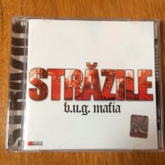 Cd B.U.G. Mafia - Strazile (2005), aproape NOU !!! - Muzica Hip Hop cat music