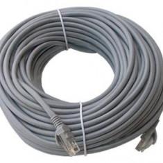 Cablu INTERNET 10 metri Cablu Retea UTP Cablu de Net fir cupru Categoria 5E - Cabluri si conectori laptop, Modem / Placi de baza conectori