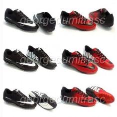 Adidasi Nike Mercurial Ghete Footbal - Ghete fotbal Nike, Marime: 37, 44, Culoare: Negru, Rosu, Barbati, Asfalt: 1, Sala: 1
