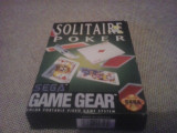 Solitaire Poker - SEGA Game Gear, Arcade, 3+, Single player