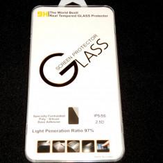 Folie de Sticla Protectie ecran Tempered Glass Iphone 5 / 5S - Folie de protectie Apple