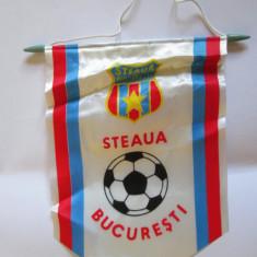 FANION STEAUA BUCURESTI ANII 80 - Fanion fotbal