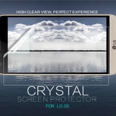 Folie LG G5 Transparenta by Nillkin - Folie de protectie LG, Lucioasa