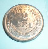 2 lei 1941 UNC luciu partial