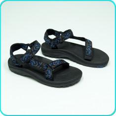 NOI, DE FIRMA → Sandale copii, comode, aerisite, frumoase, calitate TEVA → nr 34, Culoare: Negru, Unisex, Textil
