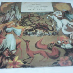DISC VINIL BASME ION SLAVICI FECIORUL CEL VREDNIC/BAIET SARAC - Muzica pentru copii