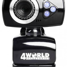 Camera web 4World 10133, 2MP, USB 2.0, microfon - Webcam
