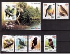 CUBA 2009, Fauna Pasari, serie neuzata, MNH foto