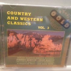 COUNTRY & WESTERN CLASSICS -Various Art.-2cd/nou/sigilat(1992/BELLAPHON/Germany) - Muzica Country universal records
