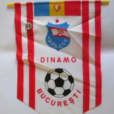 FANION+ INSIGNA DINAMO BUCURESTI ANII 80 - Fanion fotbal