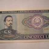 50 lei 1966 XF + - Bancnota romaneasca