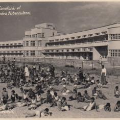 MOLDOVA, BUGAZ . NOUL SANATORIU AL LIGEI NATIONALE CONTRA TUBERCULOZEI.CIRC.937 - Carte Postala Moldova dupa 1918, Circulata, Fotografie