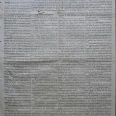 Ziarul Albina , nr. 45 , 1870 , Budapesta , in limba romana , Director V. Babes