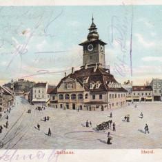 BRASOV, PRIMARIA, SFATUL, CIRCULATA NOV.''903 - Carte Postala Transilvania dupa 1918, Printata