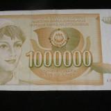 SERBIA IUGOSLAVIA 1000000 1.000.000 DINARI DINARA(32)