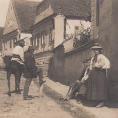 SLIMNIC (SIBIU), FOTO OTTO EBERING - Carte Postala Transilvania 1904-1918, Necirculata, Fotografie