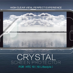 Folie HTC 10 Transparenta by Nillkin - Folie de protectie HTC, Lucioasa