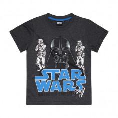 Tricou Star Wars gri inchis