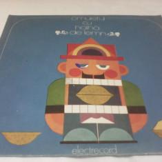DISC VINIL BASME OMULETUL CU HAINA DE LEMN - Muzica pentru copii