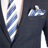 Cravata barbati + batista si butoni cod produs: 6480