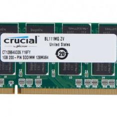 Memorie RAM Laptop 1Gb DDR 333Mhz PC2700 SO-DIMM Memory