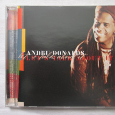 Andru Donalds – Let's Talk About It    Cd,album,Germania, virgin records