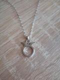 Pandantiv / Medalion Zodie Taur si Lantisor / Lantic  Argint