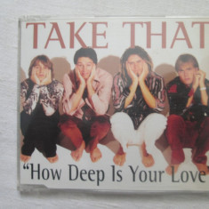Take That ‎– How Deep Is Your Love CD(single) UK - Muzica Pop rca records