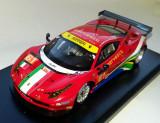 FUJIMI Ferrari 458 Italia GT2 AF Corse team Le Mans 2013 serie lim  1:43