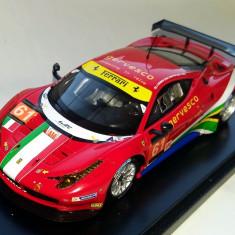 FUJIMI Ferrari 458 Italia GT2 AF Corse team Le Mans 2013 serie lim 1:43 - Macheta auto Alta