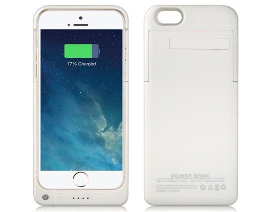 Carcasa cu baterie externa 4000mAh pentru iPhone 6 foto mare