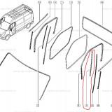 Cheder usa Fata Stg Renault Master 2 , original 8200677117