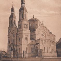 TIMISOARA - FABRICA, BISERICA ROMANA - Carte Postala Banat dupa 1918, Necirculata, Printata