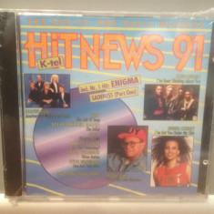 HIT NEWS '91 - Various Artists - cd/nou/sigilat (1991/K-TEL REC/GERMANY) - Muzica Pop universal records