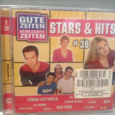 STARS & HITS #36 - Various Artists - 2cd set -nou/sigilat (2003/SONY/GERMANY) - Muzica Dance sony music