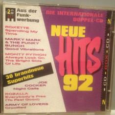 NEW HITS '92 - Various Artists - 2cd set/stare :FB/Original (1992/BMG/GERMANY)