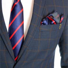 Cravata barbati + batista si butoni cod produs: 6494