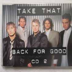 Take That – Back For Good CD(maxi-single) UK - Muzica Pop rca records