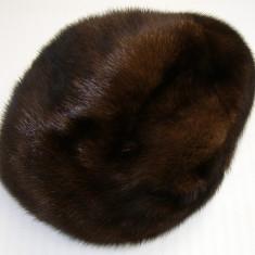 Caciula din blana naturala de nurca(01) - Caciula Dama