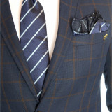 Cravata barbati + batista si butoni cod produs: 6488